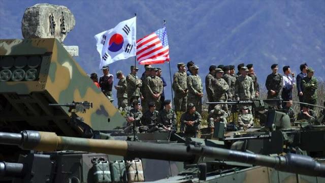 Pyongyang denuncia 'ensayos de guerra' de Corea del Sur y EEUU