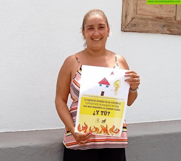 Tijarafe conciencia a la población sobre prevención en incendios forestales