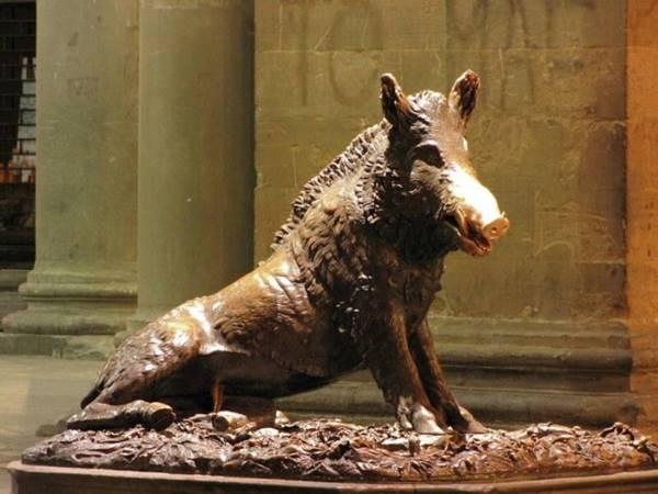 Bronze Boar, Florence, Ita