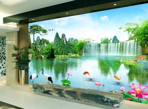 Tranh Phong Thủy Phòng Khách Đẹp