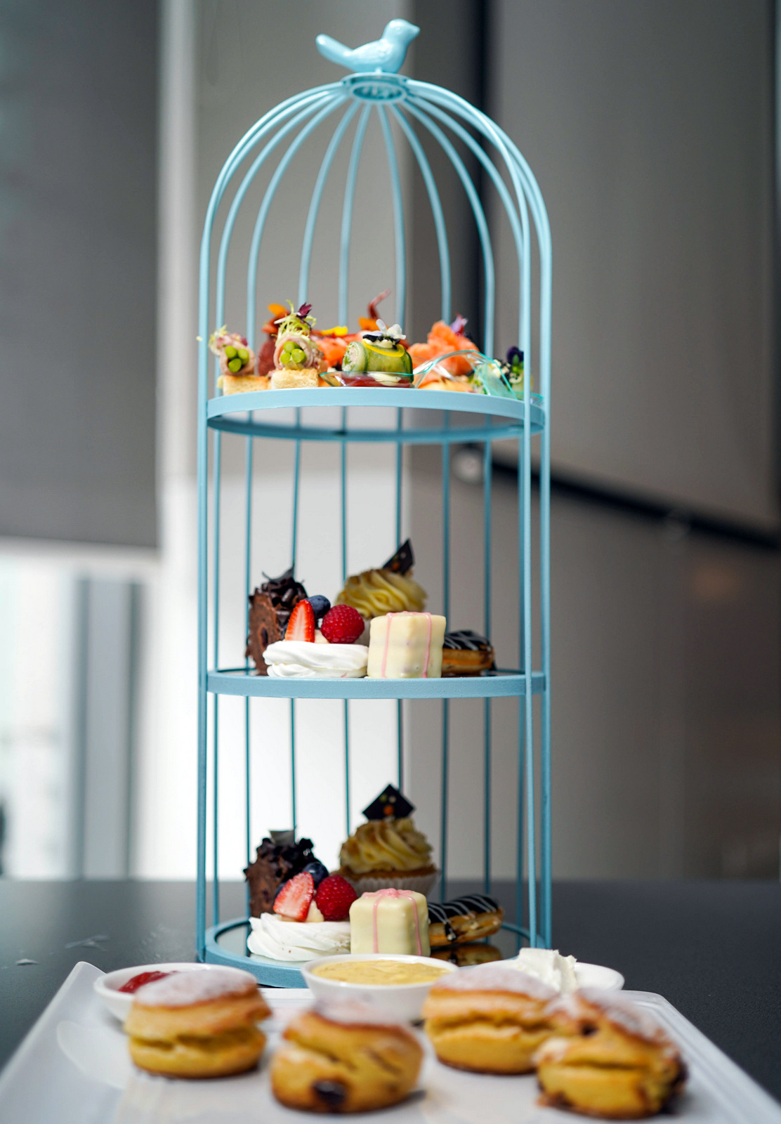 aloft's awesome afternoon tea: savouries, sweets & scones for whimsical weekends