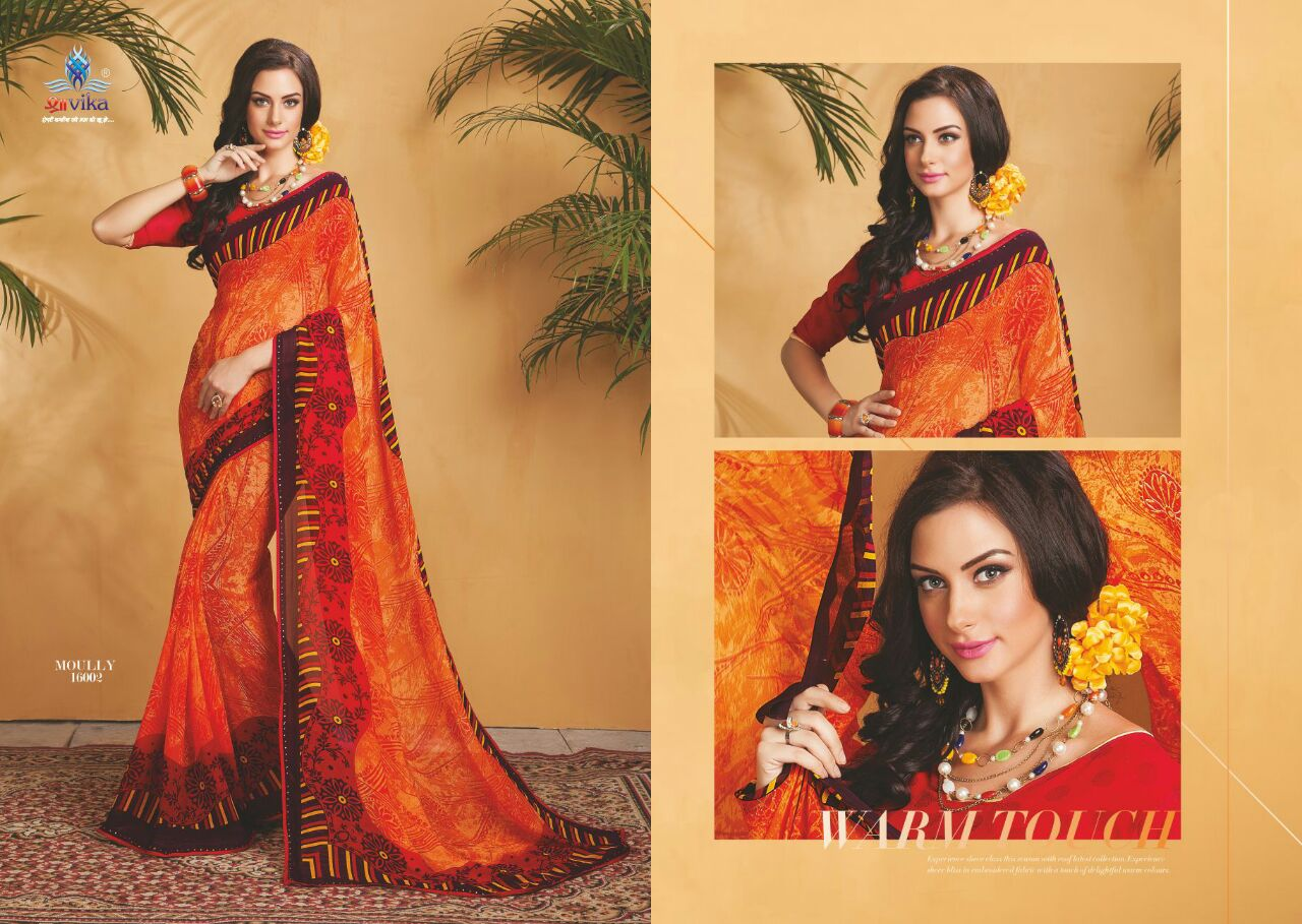 Molly Vol 1 – Best Quality Of Georgette Printed Saree