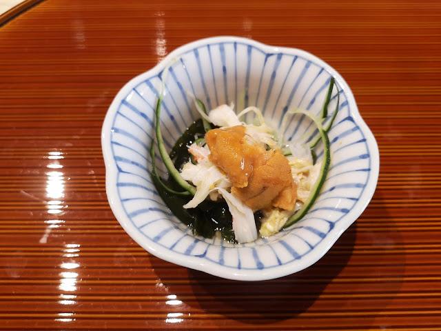 Hokkaido Kegani (Hairy Crab) with Sweet Vinegar Sauce