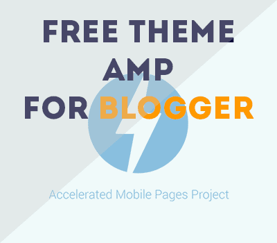 Eden creative Free Template AMP Blogger