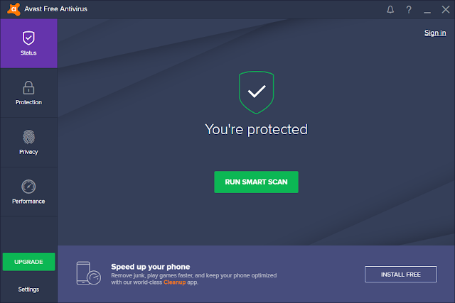 Avast Antivirus Registry Cleaner