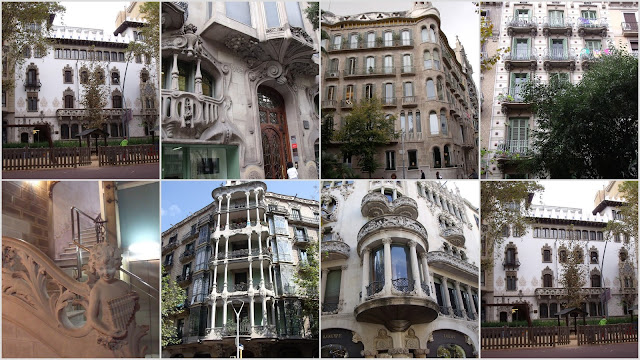 casa Batlló, casa Milá, Sagrada Familia