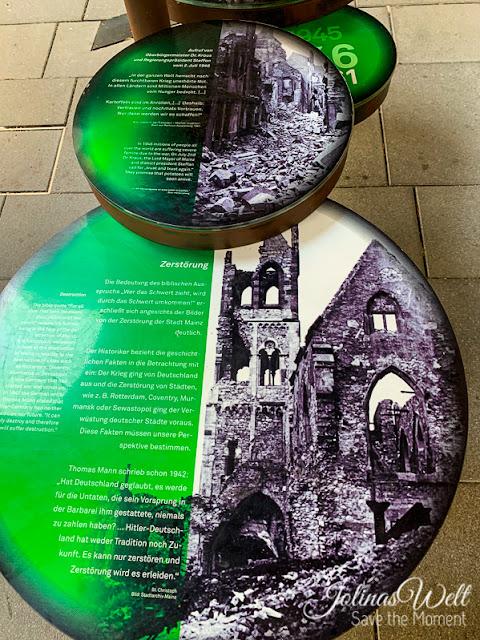 Ausstellung Zerstörung Krieg in St. Christoph