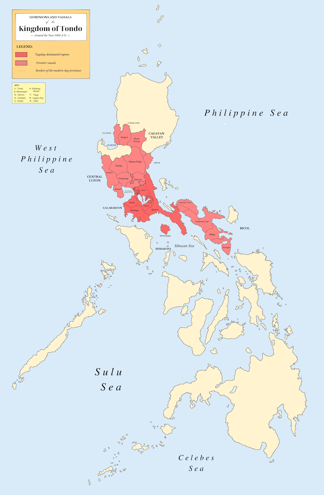 Philippine Tribes Map