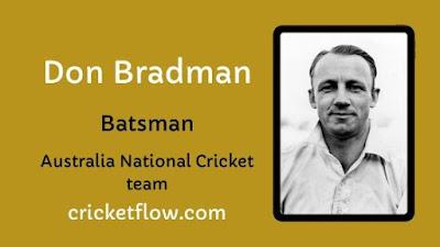 Don Bradman Net Worth, Age, Height, Career, Stats