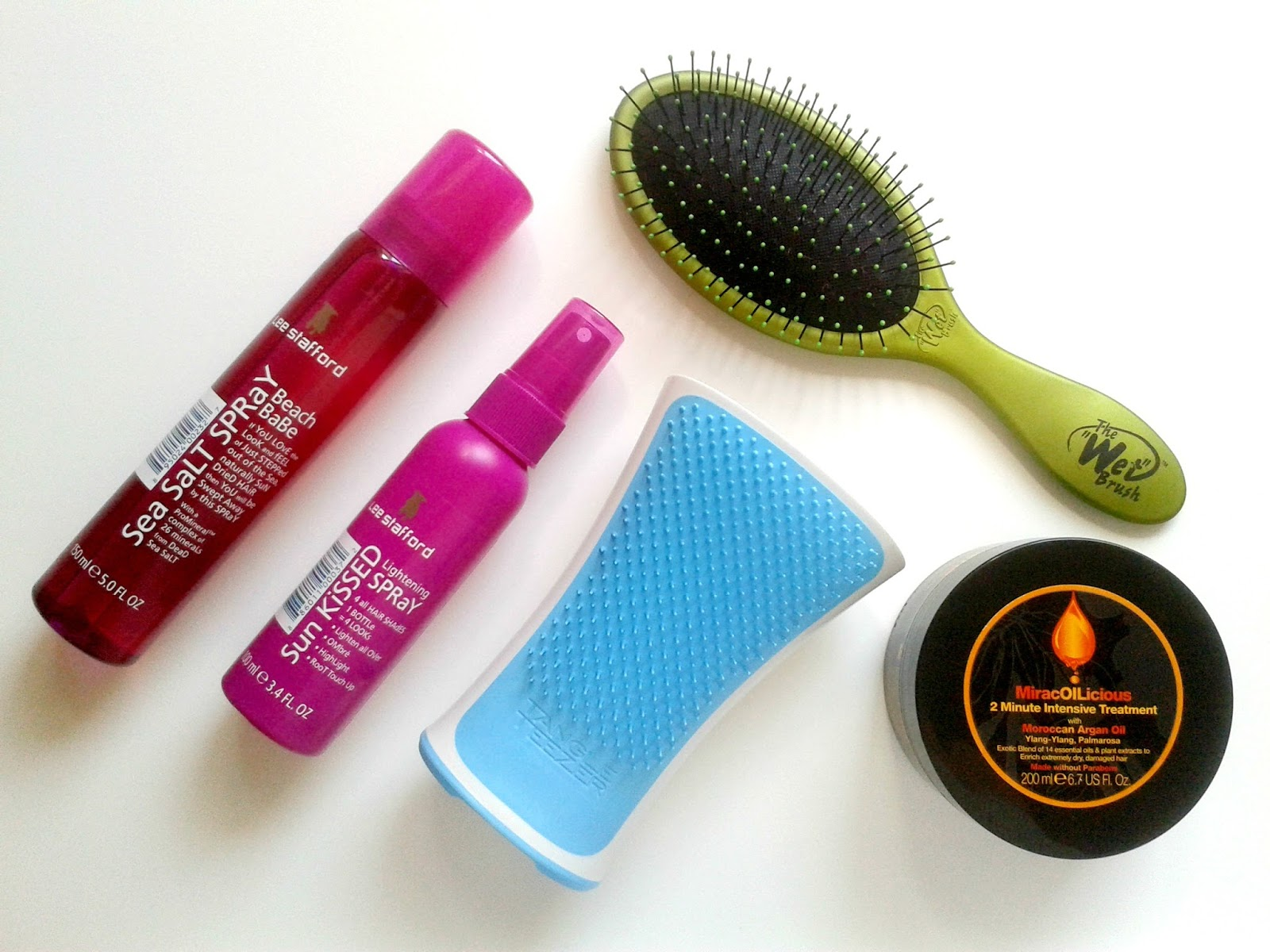 Ellis Tuesday's Summer Sun-Days: Hair Beauty Review The Wet Brush Tangle Teezer Aqua Splash Lee Stafford Mark Hill