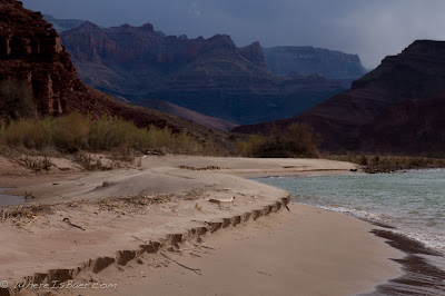 all it all is... erosion, beach and grand canyon eroding, colorado river, Chris Baer