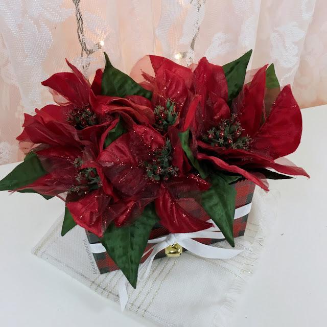 Flower arrangement box