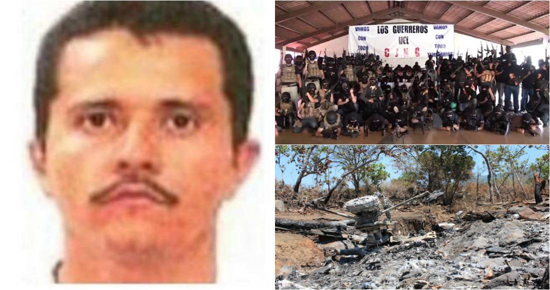 """""""El Mencho"""" líder del CJNG ya opera en Oaxaca."""