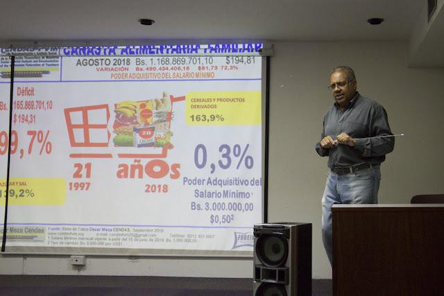 Oscar Meza: Otro aumento salarial solo profundizará el colapso de la sociedad