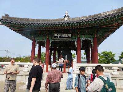 visite de la Zone Démilitarisée de Corée DMZ