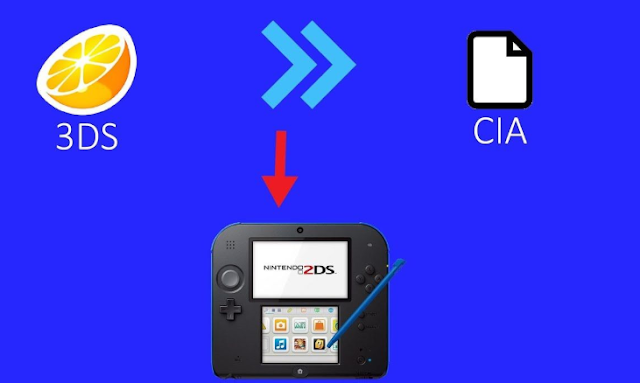 3ds-to-CIA,3ds to cia
