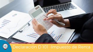 Declaración D101 Renta Costa Rica