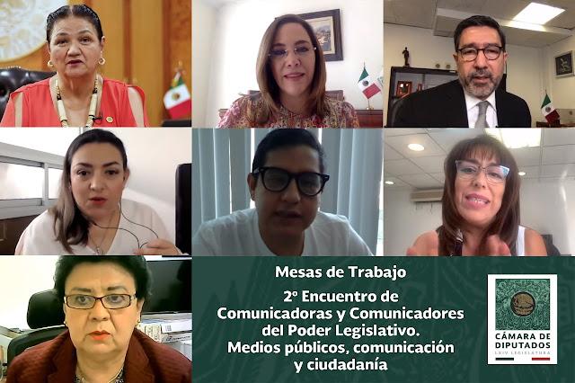 Realizan Segundo Encuentro de Comunicadoras y Comunicadores del Poder Legislativo