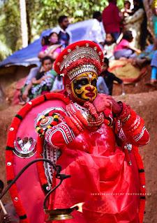 Bhadrakali Theyyam Images 8