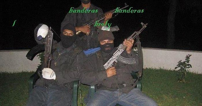 Mexican Drug Cartel Members on Facebook ~ Damn Cool Pictures