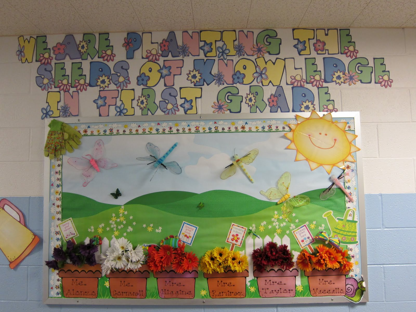 Seusstastic Classroom Inspirations Bulletin Board Linky Party