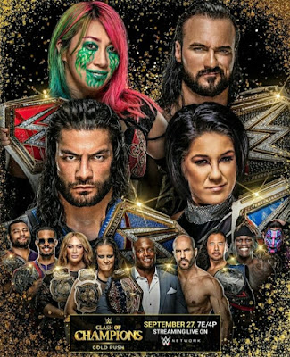 WWE Clash Of Champions 2020 PPV WEBRip 480p 700MB x264