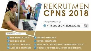 Ini Trik Cara Pilih Jabatan dan Instansi di CPNS 2018 sscn.bkn.go.id Agar Peluang Lolos Besar