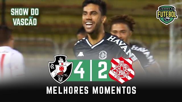 Vasco 4 x 2 Bangu | Melhores Momentos | Carioca 03/04/2021