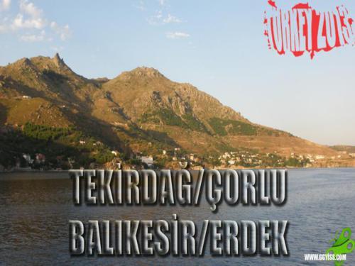 2013/06/24 Türkiye Turu 1. GÜN (Çorlu-Erdek)