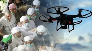 FPl Beberkan Fakta soal HRS yang Diintai Pakai Drone