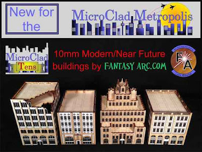Fantasy Arc's New 10mm Buildings
