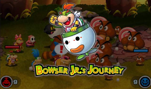 Mario & Luigi Bowser's Inside Story Bowser Jr.'s Journey Koopalings giant Goombas