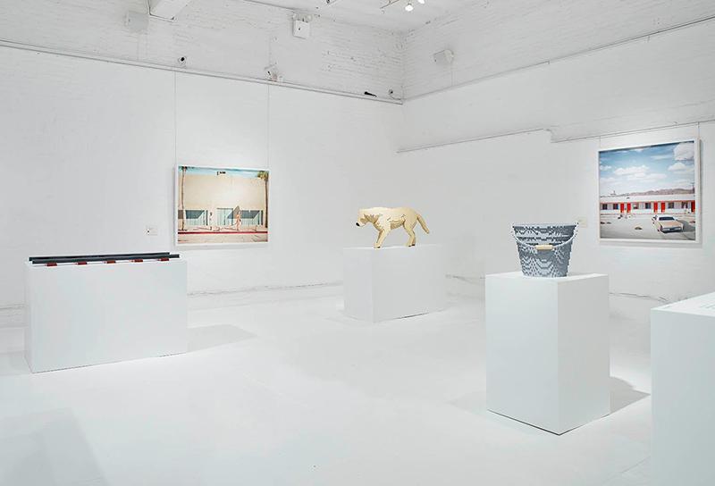 gallery view nathan sawaya dean west In Pieces