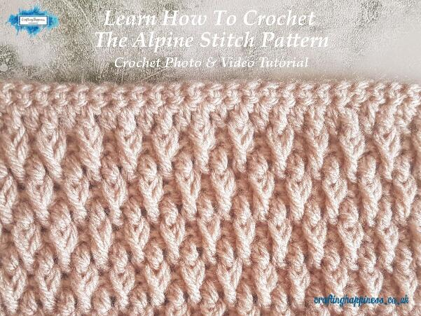 8777870988a7d8 In this tutorial I will show you step by step how to create the alpine  stitch with detailed photos and explanation and a video at the end for  those who find ...