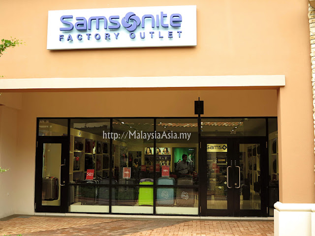 Malaysia Samsonite Factory Outlet