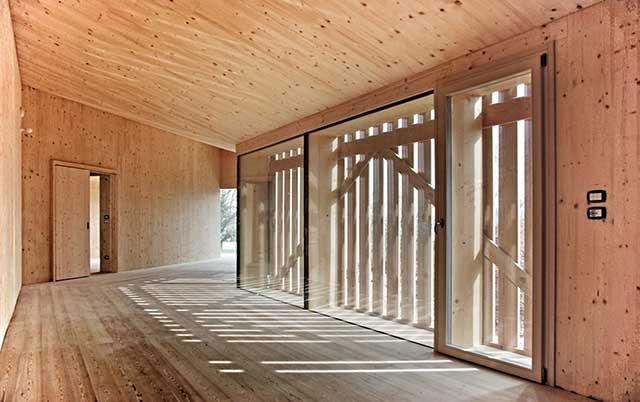 Interno di Prima Casa Passiva Architetto Marcio Tolotti