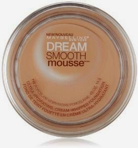 Maybelline New York Dream Smooth Mousse Foundation, Porcelain Ivory, 0.49 Ounce