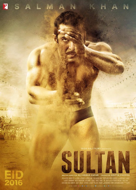 First Look Poster:Sultan-Salman Khan, Anushka Sharma