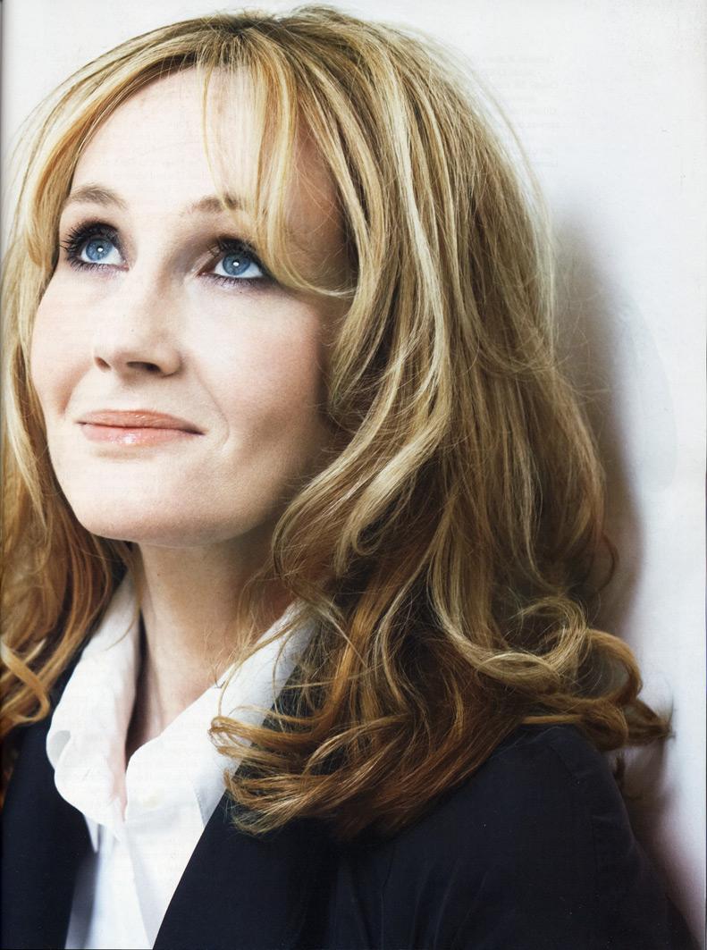 Sopotocientas fotos: JK Rowling