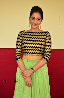 Actress Regina Candra Latest Pos in Green Long Skirt at Nakshatram Movie Teaser Launch  0096.JPG