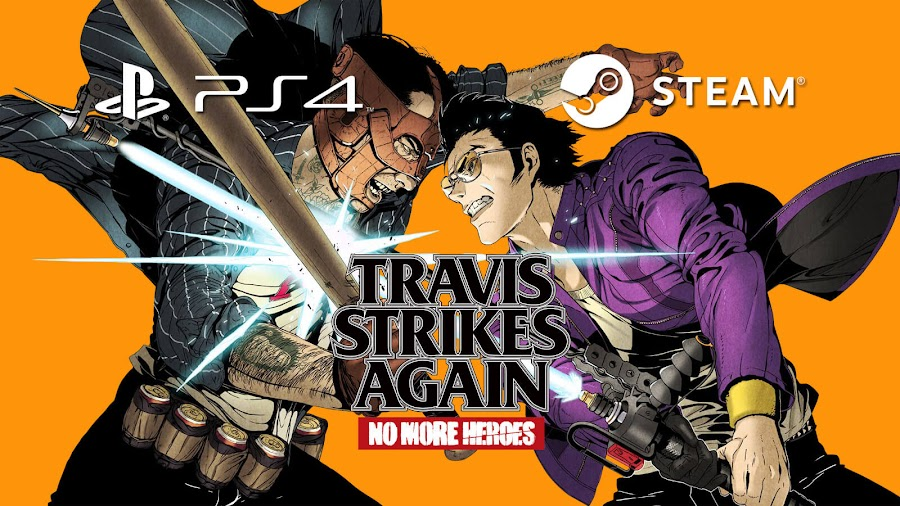 travis strikes again no more heroes pc steam ps4 grasshopper manufacture momo con 2019 travis touchdown