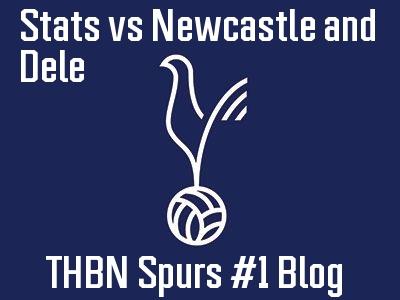 Stats vs Newcastle and Dele