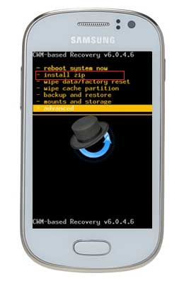 Cara Root Samsung Galaxy Fame via CWM Recovery