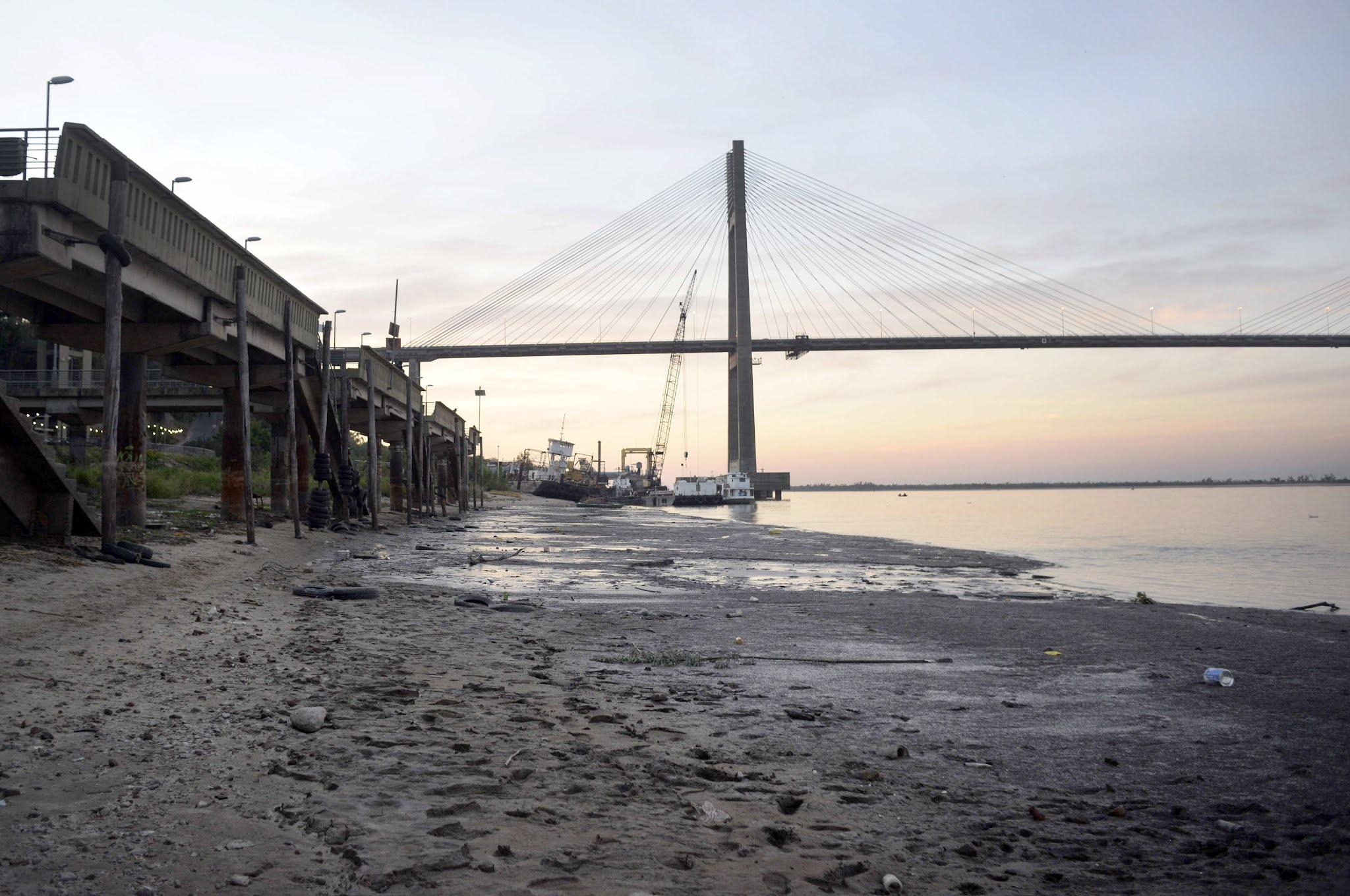 El Gobierno decretó la emergencia hídrica por la bajante del río Paraná