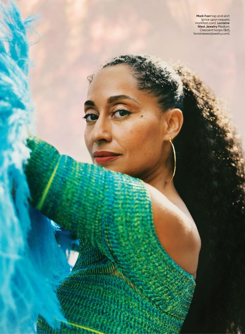 Tracee Ellis Ross Featured in Shape Magazine - November 2020