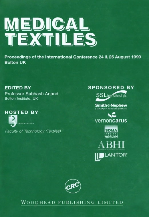 Medical Textiles: Proceedings of the Second International Conference and Exhibition