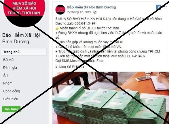 Xu ly cac hanh vi thu mua so BHXH cua nguoi lao dong