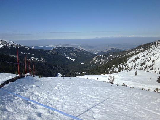 Widok z Doliny Goryczkowej w Kierunku Kuźnic