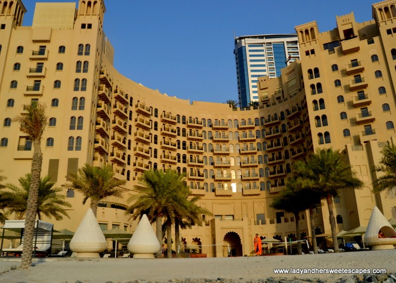 The Ajman Palace private beach