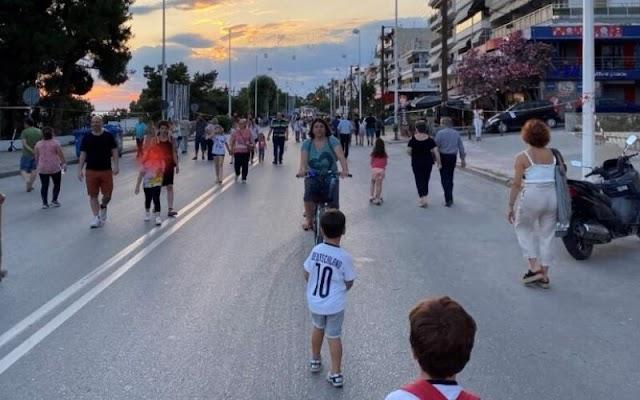 Θεσσαλονίκη: Πεζοδρόμηση της Νικολάου Πλαστήρα στην Καλαμαριά την Κυριακή